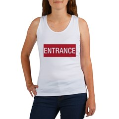Entrance / Exit - 2-sided Women's Tank Top