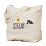 Just Be Friends Tote Bag