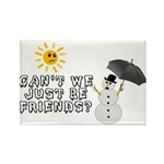 Just Be Friends Rectangle Magnet (100 pack)