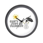 Just Be Friends Wall Clock