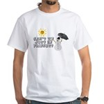 Just Be Friends White T-Shirt
