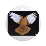 Domestic Flight Pigeon Ornament (Round)