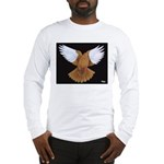 Domestic Flight Pigeon Long Sleeve T-Shirt