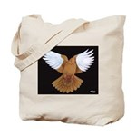 Domestic Flight Pigeon Tote Bag