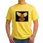 Domestic Flight Pigeon Yellow T-Shirt