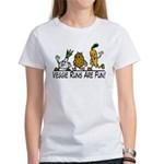 Veggie Runs Women's T-Shirt