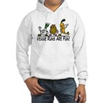 Veggie Runs Hooded Sweatshirt