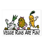 Veggie Runs Postcards (Package of 8)