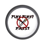 Puff Puff Pass Wall Clock