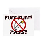 Puff Puff Pass Greeting Card