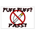 Puff Puff Pass Large Poster