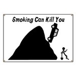 Smoking Can Kill You Banner