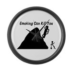 Smoking Can Kill You Large Wall Clock