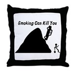 Smoking Can Kill You Throw Pillow