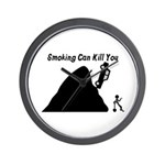 Smoking Can Kill You Wall Clock