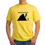 Smoking Can Kill You Yellow T-Shirt