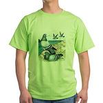 Rock Doves Green T-Shirt