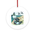 Rock Doves Ornament (Round)