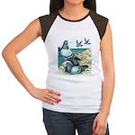 Rock Doves Women's Cap Sleeve T-Shirt
