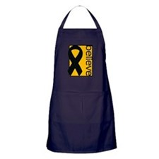 Amber (Believe) Ribbon Apron (dark)