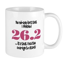 26.2 Courage to Start Mug