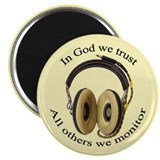 In God we trust Magnet