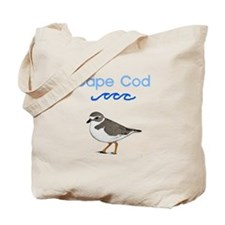Cape Cod Piping Plover Tote Bag