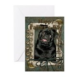 Stone Paws Pug Greeting Cards (Pk of 10)