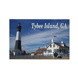 Tybee Island Rectangle Magnet (100 pack)