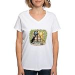 Brunner Pouters Women's V-Neck T-Shirt