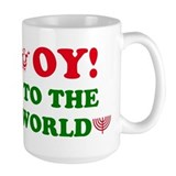 Oy to the World Mug