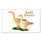 Buff Geese #5 Sticker (Rectangle 10 pk)
