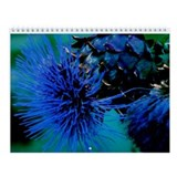 Blue Thistle Wall Calendar