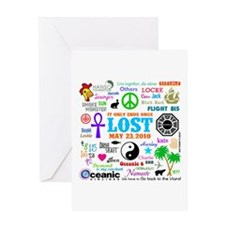 Loves Lost Greeting Card