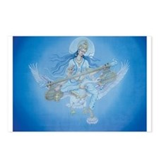 Saraswati Postcards (Package of 8)