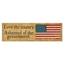 Love the Country Bumper Sticker