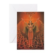 Parvati Greeting Card
