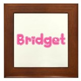 """Bridget"" Framed Tile"