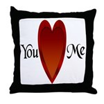 You Love Me Throw Pillow