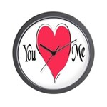 You Love Me Wall Clock