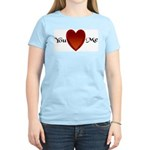 You Love Me Women's Pink T-Shirt