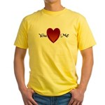 You Love Me Yellow T-Shirt