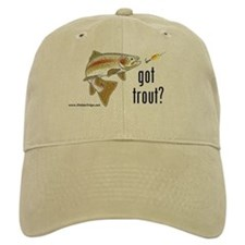 "'Got Trout?"" Ball Baseball Cap"