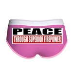 PEACE Women's Boy Brief