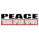 PEACE Sticker (Bumper 10 pk)