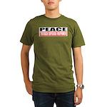 PEACE Organic Men's T-Shirt (dark)