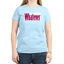 whatever t-shirts & more,  Women's Pink T-Shirt