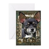 Stone Paws Chihuahua Greeting Cards (Pk of 20)