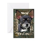 Stone Paws Chihuahua Greeting Cards (Pk of 10)