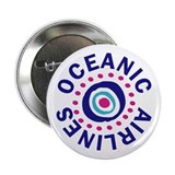 "Lost Oceanic Airlines 2.25"" Button"
